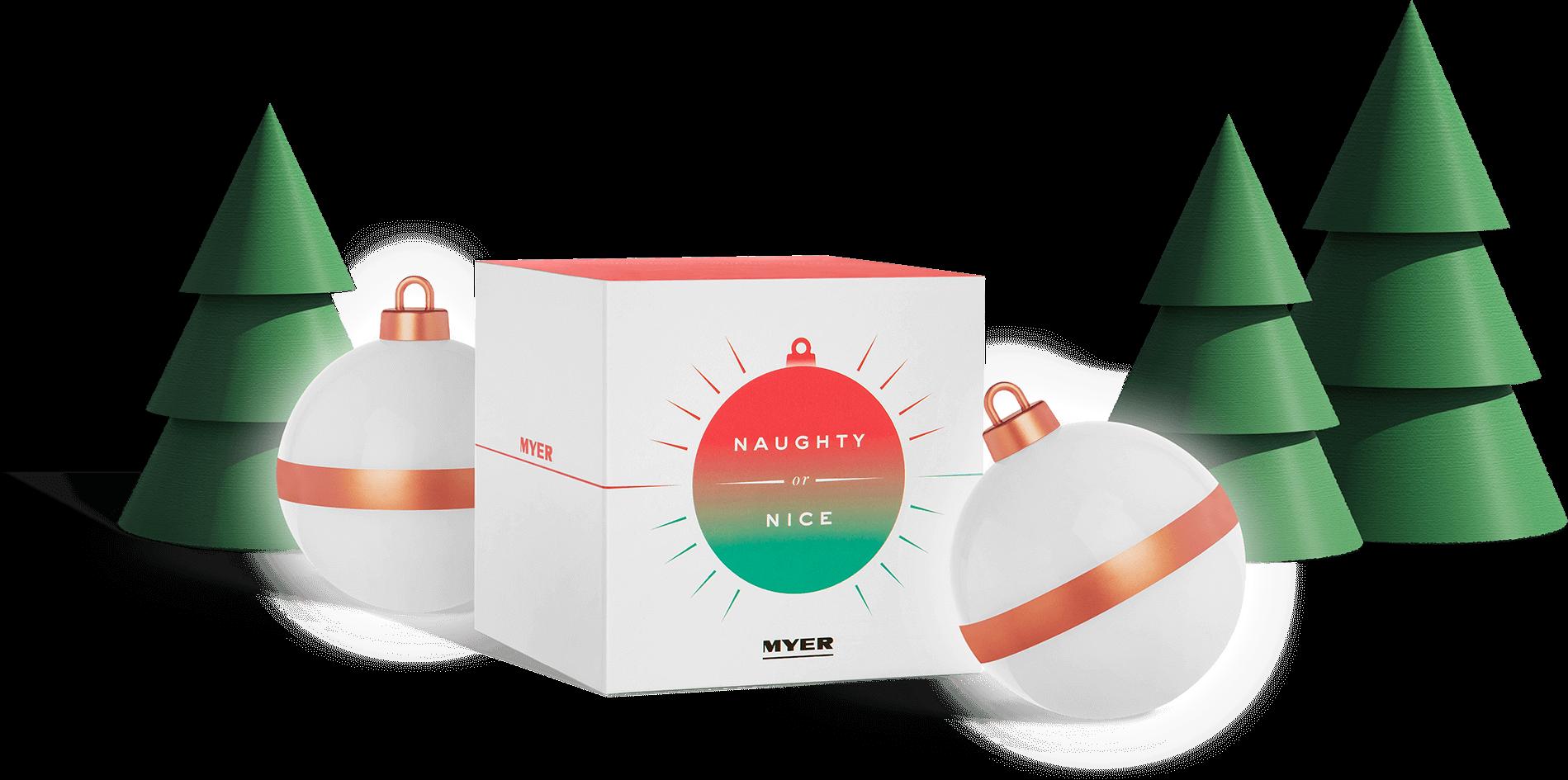Christmas Header Transparent.Myer Naughty Or Nice App